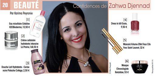 Confidences de Zahwa Djennad