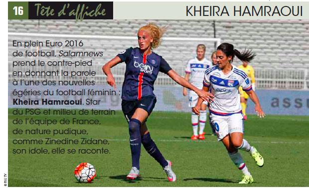 KHEIRA HAMRAOUI « Ma rage, ma ténacité m'ont permis d'y arriver »
